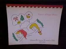 Visions of Sugar Plums, Greenville SC Junior Woman's Club Cookbook