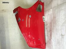 DUCATI 748 916 996 998 LH BELLY PAN CARBON PANEL SCRATCHED  D644J