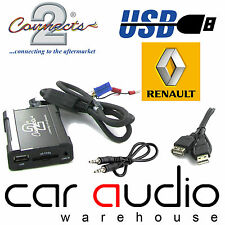 Connects2 CTARNUSB003 Renault Clio Megane Scenic USB SD AUX Interface Adaptor