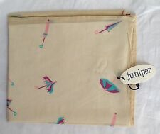 NEW 100% COTTON WOMEN'S UMBRELLA/PARASOL PRINT SCARF IN CANDY COLOURS
