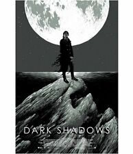Dark Shadows  Movie Poster MONDO Tim Burton Matthew Woodson Ghostco