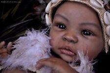 Reborn ~ Biracial Baby Shyann ~ Complete Starter Beginner Doll Kit w/ DVD 1426