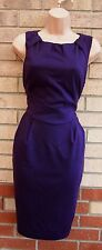 FLORENCE & FRED PURPLE LIMITED EDITION TAILORED TULIP PENCIL FORMAL DRESS 18