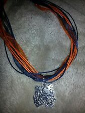 Auburn Tiger Necklace - College Football Fans - Not Available in Stores