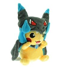 New Pokemon Pikachu With Charizard hat Plush Soft Toy Stuffed Animal Doll 9in