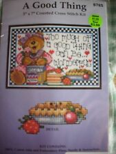 Counted cross stitch kit, A Good Thing, Joan Elliott, Design Works, #9765