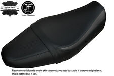 BLACK & GREY CARBON VINYL CUSTOM FITS YAMAHA XSR 700 15-17 DUAL SEAT COVER