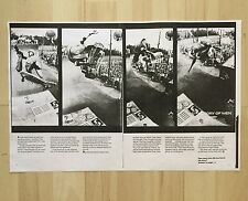 NEIL BLENDER G&S POWELL TONY HAWK AGGRO ZONE SKATEBOARD ARTICLE TWS MAGAZINE