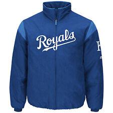 Kansas City Royals 2017 On Field Therma Base Premier Dugout Jacket L