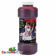 500ml Fake Blood Halloween Horror Vampire Fancy Dress Party Costume Make-Up