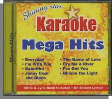 Karaoke CD+G - Mega Hits - New 2003, 8 Song Shining Star CD! Cry Me a River!