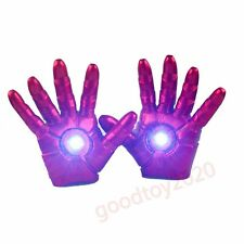 The Avengers Iron Man Hand Gloves 3D LED-Light Cosplay Action Figure Toy No Box