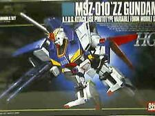 BANDAI MSZ-010 Zeta ZZ GUNDAM HG 1/144 MODEL KIT MSZ 010 High Grade