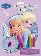 Disney Frozen Colouring and Sticker Activity Pack  - New