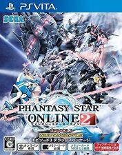 New PS Vita Phantasy Star Online 2 Episode 3 deluxe package Japan Import