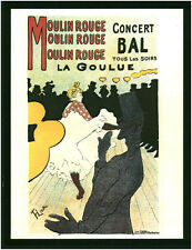 """Photo Ancienne Vintage Année 70-80 - Moulin Rouge La Goulue """" ( P 28 )"""