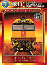 Luxury Trains of the World: The Ghan (DVD, Region 1) Usually ships in 12 hours!!