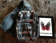 Tactical MOLLE Apple iPad Modern Warfare Sling Pack/ Shoulder Backpack Camo ACU