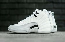 "Nike Air Jordan 12 Retro GG ""White / Wolf Grey"" Gr. 43 / US 9,5 Y"