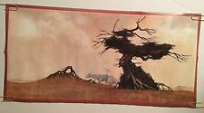 Dragon And Tree Vintage Poster Roger Dean  Pace Minerva 1970's Pin-up Headshop