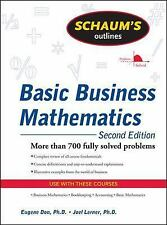 Basic Business Mathematics : More Than 700 Fully Solved Problems by Eugene...