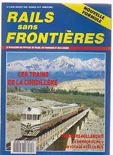 RAILS SANS PRONTIERES N°9 LE MOB / CORDILLERE / JURA / MONTREUX-OBERLAND BERNOIS