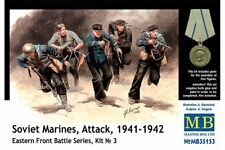 MasterBox MB35153 1/35 Soviet Marines, Attack, 1941-1942 Eastern Front