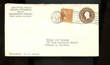 US School Advertising Cover (Indiana University) 1951 Bloomington Ind to Chiacgo