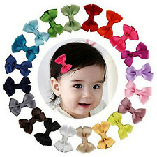 20Pcs/lot Baby Infant Girl Costume Toddlers Hair Bows Clips Xmas Christmas Gift