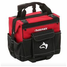 Husky Portable Rolling Wheeled Wheels Tool Tools Tote Bag Storage Case Organizer