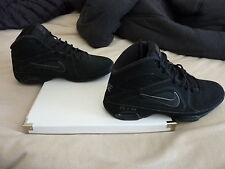 Nike Air Visi Pro 3 Black Basketball Shoes Mens US 10.5 Free U.S. Shipping!