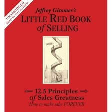 New 4 CD  Little Red Book of Selling Jeffrey Gitomer