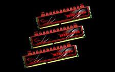 G.skill DDR3-1600 12GB(3x4GB)Triple Channel [Ripjaws]Desktop F3-12800CL9T-12GBRL