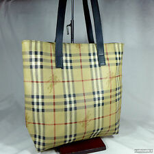 Vintage Burberry Haymarket Check MEDIUM Spalla Tote Handbag Purse