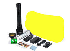 Black 85W HID Xenon Torch Flashlight 8700mAh Battery 8500Lumen Super Bright lamp