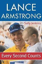 "Lance Armstrong  ""Every Second Counts"" (2003, Hardcover) FREE SHIPPING"