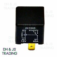 12V Relay 5 PIN Automotive 40AMP 40a Changeover RY24 Resistor across the Coil