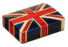 Union Jack Hand Crafted Wooden Box