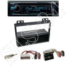 KDC-300UV Kenwood Radio + Ford Fiesta JH1,JD3, Fusion JU2 black + ISO Adapter