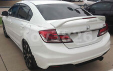2015 HONDA CIVIC 4DR SEDAN FACTORY SI STYLE SPOILER REAR WING - PRIMER
