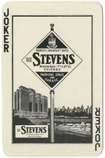 One Vintage Playing Card - DIANA - Stevens Parking Space & Garage Ad - Joker