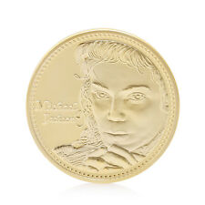 The King of Pop MJ Thriller Moonwalk Commemorative Coin Collection