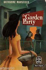 La Garden Party et autres nouvelles / Katherine MANSFIELD // 1956 // Envoûtantes