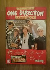 One Direction 1D 2012 Official Souvenir Scrapbook Harry Louis Zayn Liam Niall