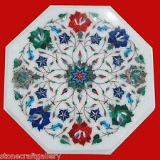 Marble Center Coffee Table Pietra dura Handmade Work For Home Decor for Gifts