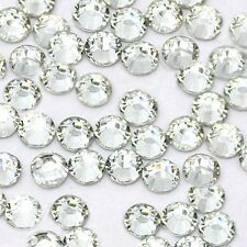 1440 Pcs ss16 Charm Hot Fix Rhinestone Beads Clear Crystal 4mm