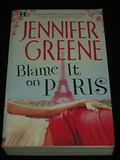 msm* SALE : JENNIFER GREENE ~ BLAME IT ON PARIS