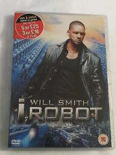 I, Robot DVD Starring Will Smith, Bridget Moynahan, Bruce Greenwood