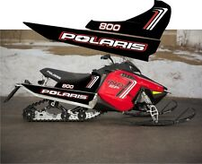 POLARIS 800 INDY SP LE 120 144 red TUNNEL tank  DECAL STICKER 13 2014 2015 2016