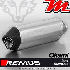 Silencieux Pot échappement Remus Okami inox Suzuki SV 650 - 2017